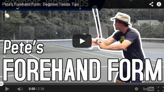 pete forehand form