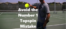 avoid topspin mistake
