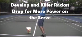 a killer racket drop