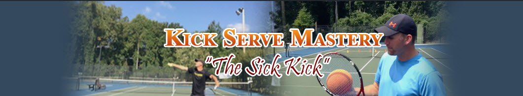 kick serve picture