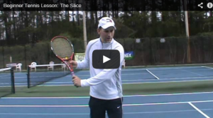 Beginner Tennis Lesson: The Slice