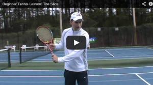 Beginner Tennis Lesson: The Slice