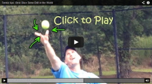 Learn how to volley like the pro players by covering the net like a Soccer Goalie