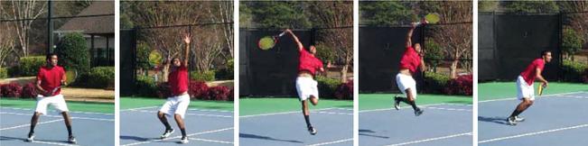 overhead-shot-practice