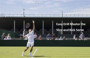 Serve Tip: Learn Kick serve and slice serve the easy way