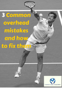 3 Common overhead mistakes and how to fix them