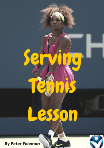 "Serving Tennis Lesson: ""The Limbo"""