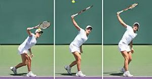 Tennis tip: Learn the Topspin Lob