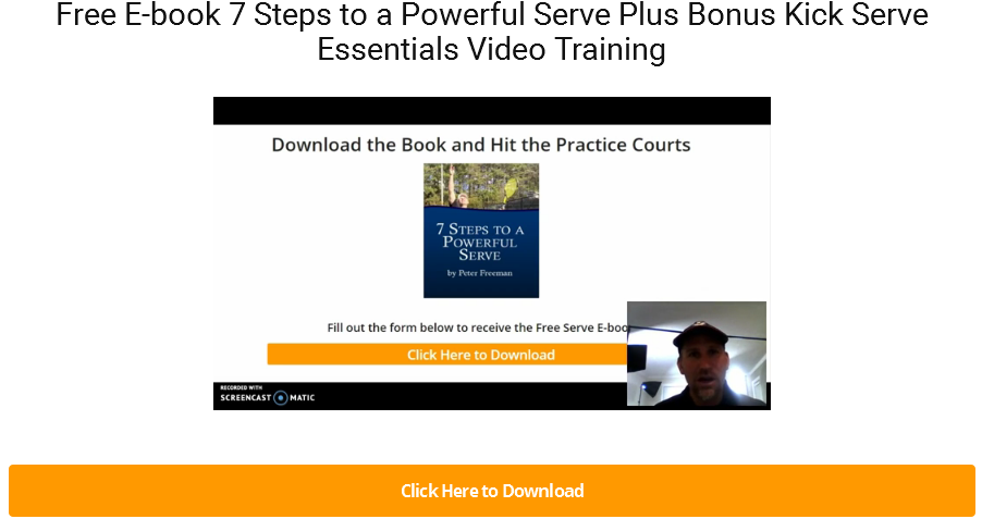 7 Steps to a Powerful Serve Free Ebook