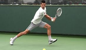 How to hit Novak Djokovic open option ground strokes