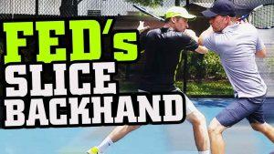 Wimbledon 2017 Roger Federer Slice Backhand Tennis Lesson